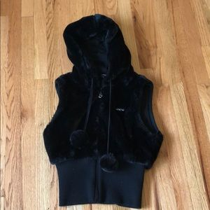 Bebe hooded vest